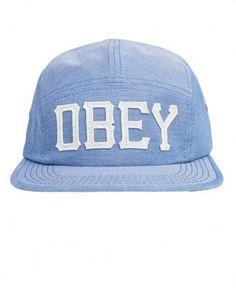 Obey - Stadium 5 Panel Cap (Blue) - $22