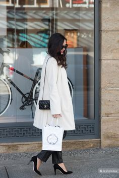 Образ в белом цвете: зимняя свежесть для вашего стиля — на Шопоголик