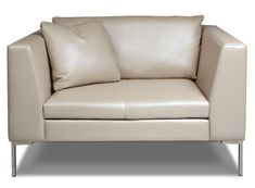 """American Leather : Inspiration Chair and a half.  53""""W (seating area 36"""")"""