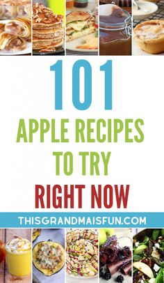 101 Apple Recipes to Try Right Now