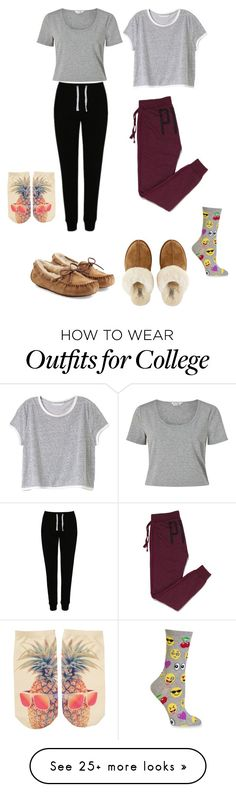 """""""Gn Polyvore"""" by caka-1 on Polyvore featuring George, Victoria's Secret PINK, Miss Selfridge, Victoria's Secret, UGG Australia, UGG, HOT SOX and Free Press"""