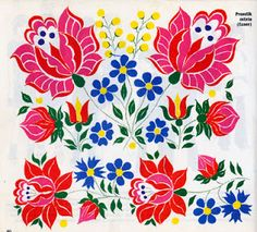 I have a book from the early which gives ideas on how to embellish your clothes with embroideries of Hungarian folk art. I love the st. Hungarian Embroidery, Folk Embroidery, Learn Embroidery, Floral Embroidery, Chain Stitch Embroidery, Embroidery Stitches, Embroidery Patterns, Stitch Head, Embroidery Techniques