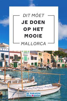 Mallorca is een ideale vakantiebestemming voor cultuurliefhebbers, met dank aan haar prachtige kathedraal en schitterende bergdorpjes. Maar ook strandfanaten zijn hier aan het juiste adres. Er is genoeg te doen op het Spaanse eiland!