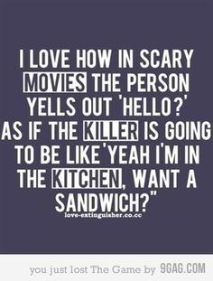 """LOL!   """"Yes,can you make a BLT???""""    """"Suuuuurrreeee......."""""""