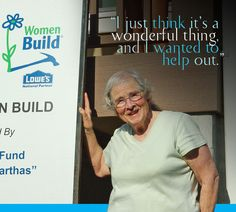 Asheville Area Habitat's Barbara Reynolds provides lunch once a week during the annual Women Build. #HabitatWorld http://www.habitat.org/magazine/article/blogging-breaking-bread-and-brush-kindness