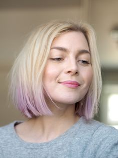 Dip dyed pastel hair | Lilac, lavender, violet | Photo: Pupulandia