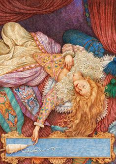 Sleeping Beauty.  Anne Yvonne Gilbert