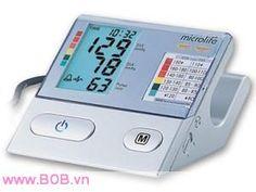 Máy đo huyết áp Microlife  Cung cấp bởi website: http://bob.vn/thiet-bi-y-te/may-do-huyet-ap/