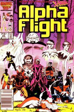 Alpha Flight # 33 by Mike Mignola