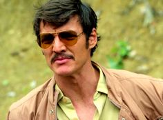 Pedro Pascal in Narcos :)