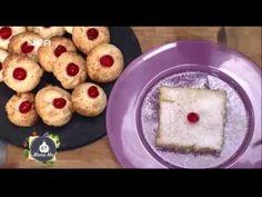 Γλυκές καρύδες με τρία υλικά! και κέικ καρύδας! - YouTube