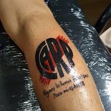 Resultado de imagen para river plate tatuajes Fish Tattoos, Tatoos, River Tattoo, Ariel, Portal, Soccer, World, Slip On, Projects