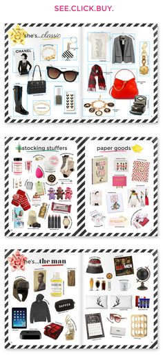 2013 Holiday Gift Guide - Magazine Style!