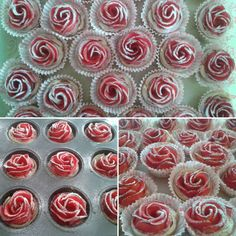 Rose cakes... I think that this can be count as art too. #foodart  #rose #roses #redroses #red #cakes #cupcakes #food #dessert #tasty #jummy #apple #sugar #baking #baked #art #artist #artwork #creativity #creative #athome #creativeathome #croative