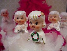 Holt Howard Angels #vintage #christmas
