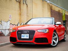 Audi RS 5 Cabriolet: Dual personality means it's blissful no matter how you drive it. #Audi #cars