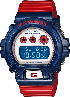 March 2013 Release // G-Shock Blue and Red Series Limited Edition //  DW-6900AC-2JF // Free Shipping within Australia