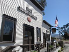 Stop in for wine tastes and grass-fed beef at the Hearst Ranch Winery tasting room