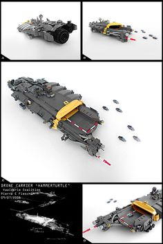 Lego space ship from the flickr photostream of Pierre E Fieschi.