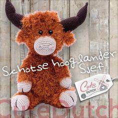 Haakpatroon Schotse hooglander Sjef (download)