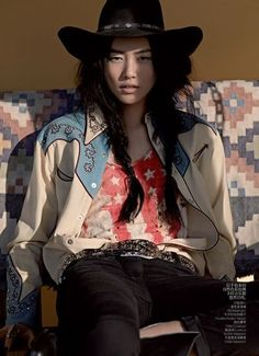 Vogue's Take on Southwestern Fashion+ Red White and Blue! gallery d | shopgalleryd.com