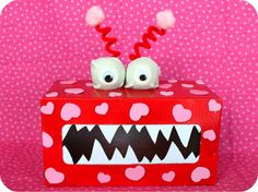 Valentines Monster  @Giggles Galore
