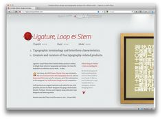 Ligature, Loop and Stem
