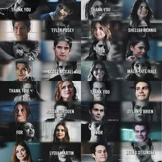 Thanks to everyone who was a part of teen wolf❤