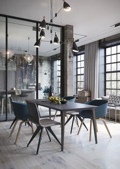 Interieur inspiratie uit Duitsland #design http://www.wonenonline.nl/keukens/