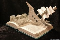 A Novel Idea: Beautiful Sculptures Made From Books