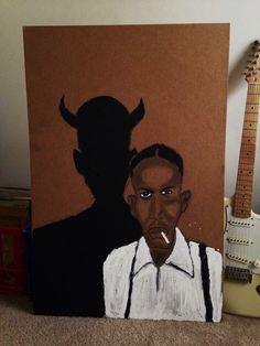 retro2mod.tumblr Johnny Shines, Papa Legba, Robert Johnson, Delta Blues, Latest Generation, Concert Posters, Voodoo, Mythology, Devil