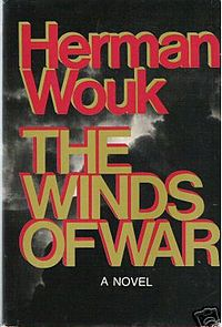 The Winds of War: Hubs and I both read this (and the sequel: War and Remembrance) before we saw the mini-series. While Mitchum was great, the book wins out over the film version. I Love Books, Great Books, Books To Read, My Books, First Novel, Reading Material, Historical Fiction, Book Authors
