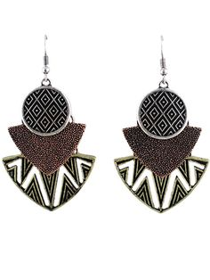 Shop Silver Hollow Geometric Dangle Earrings online. SheIn offers Silver Hollow Geometric Dangle Earrings & more to fit your fashionable needs.