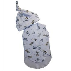 Baby Boys Puppy Friends Preemie NICU Snuggler Wrap