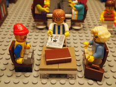 The Library in Lego Form (aka the absolute last post I will write about Lego librarians) / Mr. Library Dude blog   #socialibrarianship
