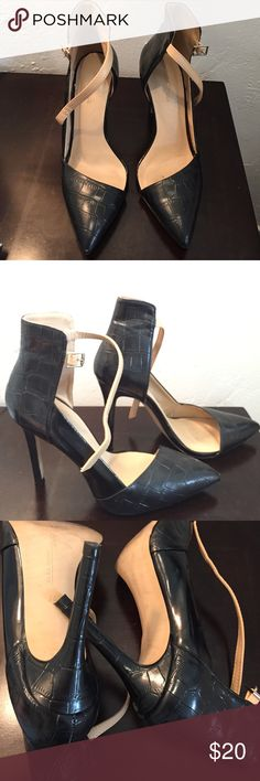 af04b4d60de7 Zara ankle strap heels Zara ankle strap heels. Some normal signs of use.  Scuff