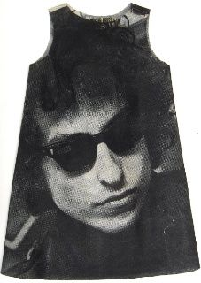 Its paper, Its a dress, And its freaking Bob Dylan. Mind=blown