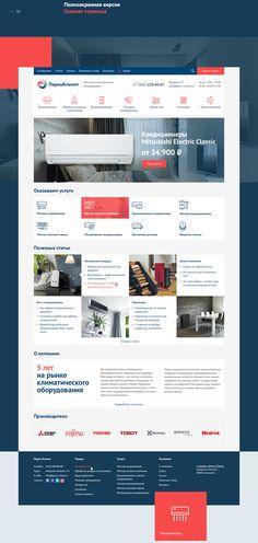 PermKlimat website on Behance Corporate Website Design, Corporate Blog, Dashboard Design, Ui Ux Design, Web Layout, Layout Design, Blog Design Inspiration, Web Banner Design, Blogging