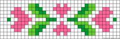 A30477 - friendship-bracelets.net Cross Stitch Bookmarks, Beaded Cross Stitch, Cross Stitch Borders, Cross Stitch Flowers, Cross Stitch Designs, Cross Stitching, Cross Stitch Embroidery, Cross Stitch Patterns, Crochet Dolls Free Patterns