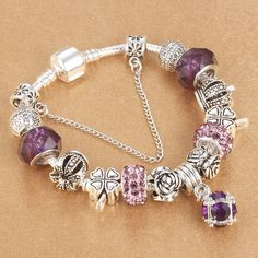 HOMOD 2017 New Arrival Elegant European Beads Charm Bracelet Fits Brand  Bracelets for Women Gift ** Locate the offer simply by clicking the image