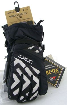 Burton Women's Gore Glove - Geo / True Black - S #Burton
