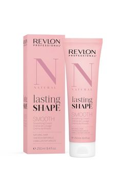 Revlon Professional lasting Shape Smooth Smoothing Cream Natural Hair 250ml. Revlon Professional, Natural Hair Styles, Projects To Try, Shapes, Beauty, Natural Hair, Beauty Illustration
