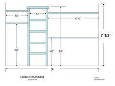 DIY Closet Organizer Plans: How to Customize Your Closet Diy Walk In Closet, Diy Custom Closet, Closet Redo, Bedroom Closet Design, Build A Closet, Master Bedroom Closet, Closet Designs, Diy Closet Ideas, Basement Bedrooms