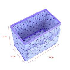 5 Color Home Organiser Foldable  Make Up Cosmetic Storage Box Container Bag  dresser Office Zakka Desktop Pen Organizer