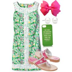 """Summer dress"" by preppyclothes on Polyvore"