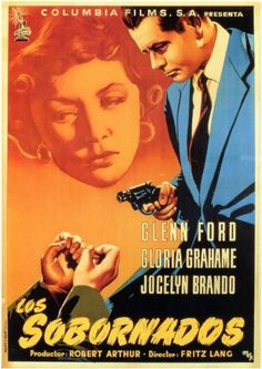 'The Big Heat '( Spanish Art ) Check out that Blue Jacket. Wonderful Art Work