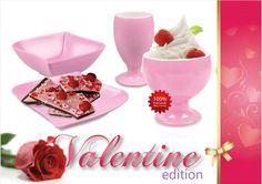 Hadirkan suasana kasih sayang dihari Valentine bersama produk Golden Dragon Melamine Ware.