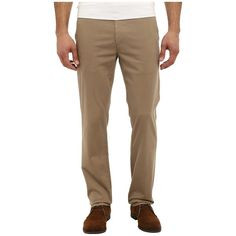 AG Adriano Goldschmied The Lux Khaki (Wheat) Men's Jeans ($168) ❤ liked on Polyvore featuring men's fashion, men's clothing, men's pants, men's casual pants, mens slim fit pants, mens pants, mens lightweight pants, mens zipper pants and mens elastic waistband pants