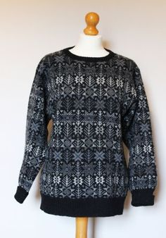 One jumper from Ella Gordon's beautiful knitwear collection.  Wow!