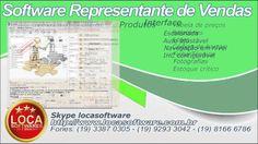 Software para representante comercial representação